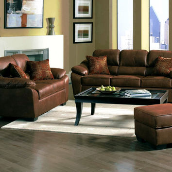 Laramie Tanner Serta sofa and loveseat