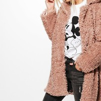 Tanya Teddy Faux Fur Coat