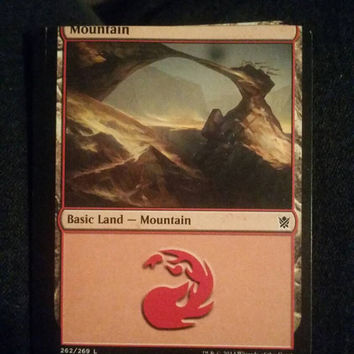 Misprint Mountain Card
