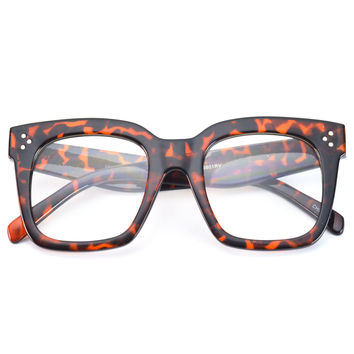 Big Frame Non Prescription Glasses : Shop Thick Frame Glasses on Wanelo