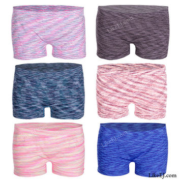 Seamless for no line boyshort cut Panty Bottom Underwear Short # 83047