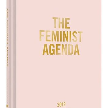 The Feminist Agenda 2019 12-Month Planner in Soft Pink
