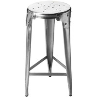 Riveted Aluminum Stool