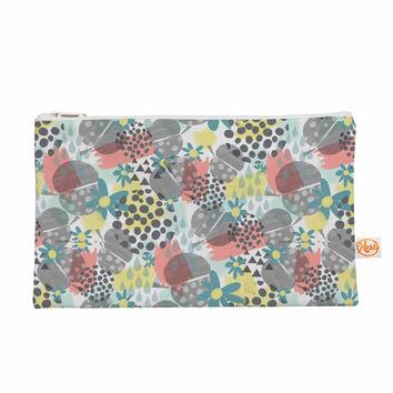 "Melissa Armstrong ""Apples, Drops & Blooms"" Multicolor Pink Digital Everything Bag"