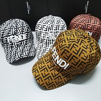 FENDI Newest Popular Women Men Sports Sun Hat Baseball Cap Hat