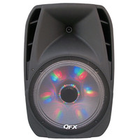 QFX Battery Powered Bluetooth PA Speaker LED Light