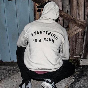 Everything is a Blur Unisex Hoodies