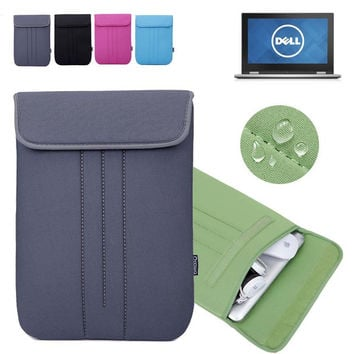 For Dell Inspiron 11 3000 Series 3147 3148 3137 11.6'' Computer Case Vertical Sleeve Laptop Bag Neoprene Protective Skin Cover