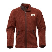 Men's Campshire Full Zip Sherpa Fleece in Brandy Brown by The North Face - FINAL SALE