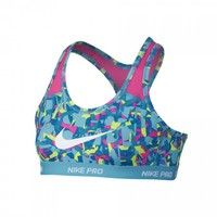 Nike Pro Girls Youth Sports Bra - Blue | Lacrosse Unlimited
