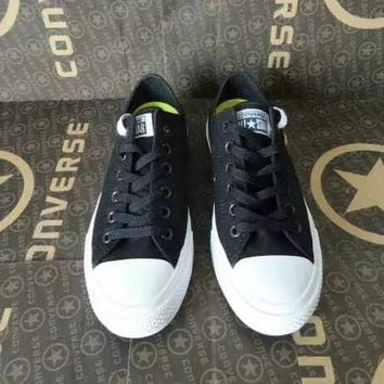 """""""Converse Chuck Taylor All Star II"""" Unisex Sport Casual Low Help Shoes Canvas Shoes Couple Classic Cloth Shoes"""