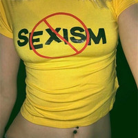 NO TO SEXISM TOP