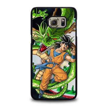 dragon ball z son goku shenron samsung galaxy s6 edge plus case cover  number 1