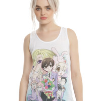 Ouran Host Club Hosts Girls Tank Top