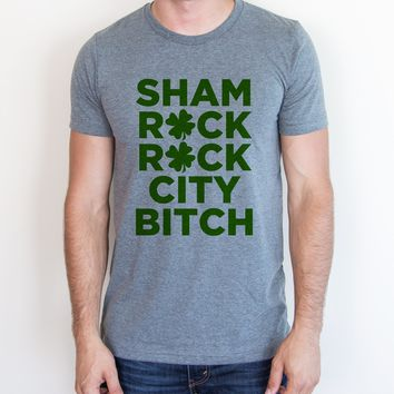 Sham Rock Rock City Bitch Tee