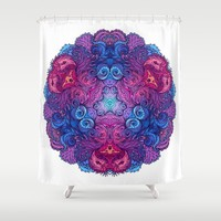 Indian Mandala 02 Shower Curtain by Aloke Design