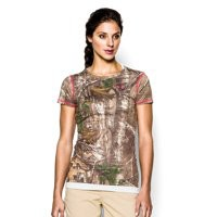 Under Armour Women's HeatGear EVO Camo Short Sleeve