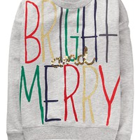 Bright & Merry Pullover