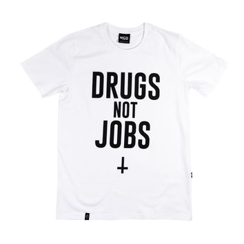 Tshirt Drugs Not Jobs | GRAFITEE Store