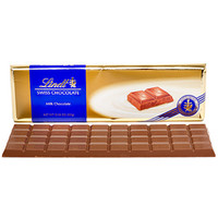 Lindt 10.5-Ounce Chocolate Gold Bar - Swiss Milk: 10-Piece Case