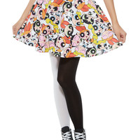 The Powerpuff Girls Allover Circle Skirt