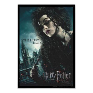 Deathly Hallows - Bellatrix Lestrange 2 Posters from Zazzle.com
