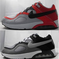 New Mens Nike Air Max Go Strong 418115 Cool Grey/ Silver- Black- White