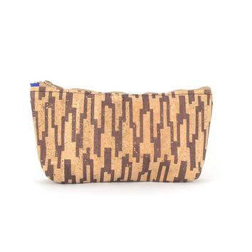 Cork small pouch for pencils and notions