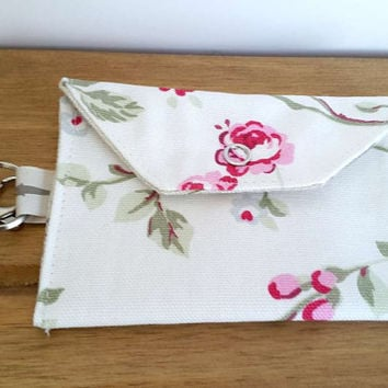 Handbag Accessory, Girls Wallet, Ladies Coin Purse, Change Pouch, Fabric Business Card Holder, Lightweight Purse