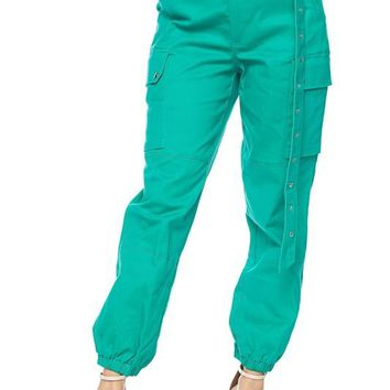 On the Low Cargo Pants Green