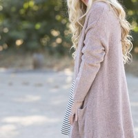 Alice Blush Knit Cardigan