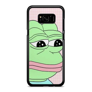 Aesthetic Pepe Frog Samsung Galaxy S8 Plus Case