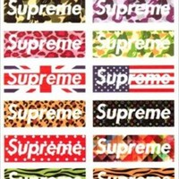new designs Supreme waterproof PVC stickers computer notebook hip-hop style For PC t