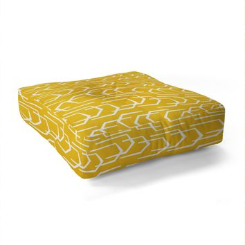 Heather Dutton Going Places Sunkissed Floor Pillow Square