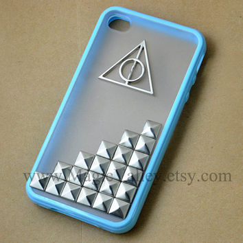 Iphone 4 case Iphone 4S case Harry Potter Deathly by MagicValley