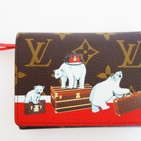 LOUIS VUITTON POLAR BEAR WALLET VICTORINE ANIMATION LIMITED EDITION NEW