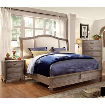 Furniture of America Minka II Rustic Grey Platform Bed | Overstock.com Shopping - The Best Deals on Beds