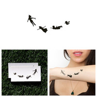Second Star - Temporary Tattoo (Set of 2)