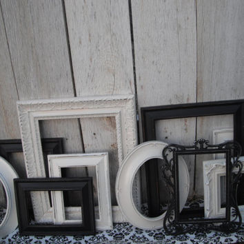 Custom PICTURE FRAMES  shabby chic or Hollywood by VintageEvents
