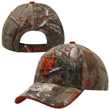 New York Mets '47 Brand Frost Adjustable Hat – Realtree Camo