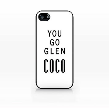 SCC-064 You go glen coco, iphone 4, 4s case, iphone 5,5s case, hard plastic case, apple iphone case, iphone cover