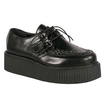 Demonia Black Two Inch Creepers