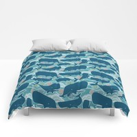 Aquatic Life Comforters by Heather Dutton