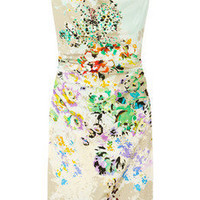 Etro | Floral-print stretch-silk dress | NET-A-PORTER.COM