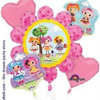 Girls Lalaloopsy Balloon Bouquet - Multi-colored