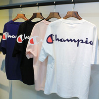 Champion Back Printed Logo Short sleeve t-shirt