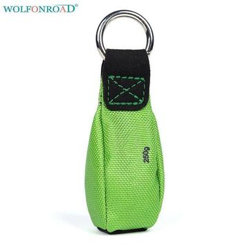 PEAPGC3 WOLFONROAD Outdoor Sport Line-throwing Sandbag Tree Climbing Rope-throwing Bag Rock Tree Climbing Equipment L-XDQJ-156