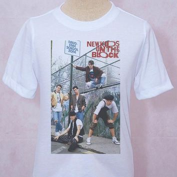 New Kids on the Block T-Shirt Style Rocker Unisex S M L XL