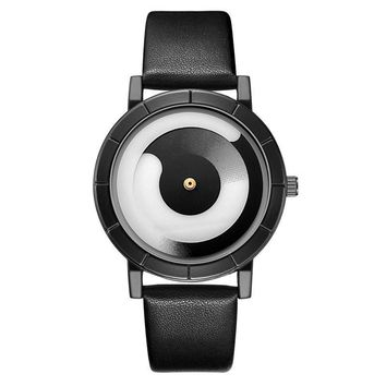 2017gift GSWP cool colour Minimalist style wristwatch creative design Dot and Line simple stylish with quartz fashion watch