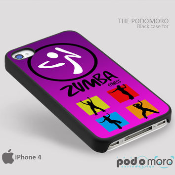 Zumba Fitness Silhouette for iPhone 4/4S, iPhone 5/5S, iPhone 5c, iPhone 6, iPhone 6 Plus, iPod 4, iPod 5, Samsung Galaxy S3, Galaxy S4, Galaxy S5, Galaxy S6, Samsung Galaxy Note 3, Galaxy Note 4, Phone Case